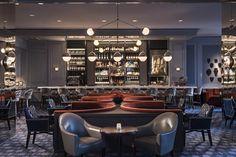 CovetED Ultimate Design of Bar Margot in Four Seasons Hotel Atlanta dinning room