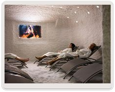 Try halotherapy (salt room) for my asthma.