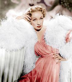 Dietrich in pink.