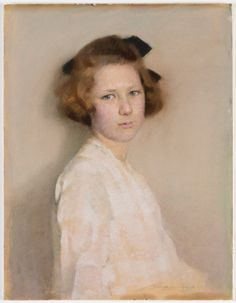 """Florence Rodway, """"Kate McIlrath,"""" 1924, pastel on paper, 59.1 x 45.4 cm, State Library of New South Wales, Sydney, Australia"""