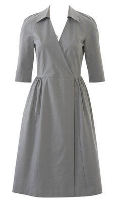 Burda Wrap Dress 04/2015 #122