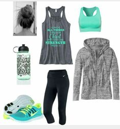 Energy beauty athlete outfit