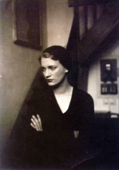 "labellefilleart: "" Lee Miller in Man Ray's studio, Man Ray """