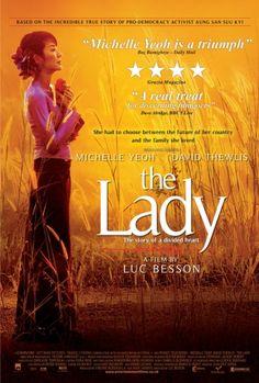 "Aung San Suu Kyi ""The Lady"" 2011. Luc Besson."