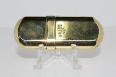 Brass No 5 Benzin Feuerzeug Lighter, brennt, Sammler, rar, alt, vintage Alter, Money Clip, Brass, Ebay, Vintage, Money Clips, Vintage Comics, Rice