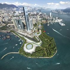West Kowloon Cultural District proposal by Foster+Partners includes Great Opera House and concert halls