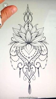 Mandala Tattoo Design - tattoo designs ideas männer männer ideen old school quotes sketches Mandala Tattoo Design, Lotus Flower Tattoo Design, Forearm Tattoo Design, Tattoo Design Drawings, Lotus Tattoo, Forearm Tattoo Men, Tattoo Thigh, Tattoo Flowers, Sternum Tattoo