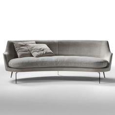 GUSCIO SOFA designed by Antonio Citterio. Available through Switch Modern.