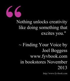 Finding Your Voice by Joel Boggess.