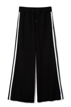 Weekday The Reflective Flare Trousers  in Black