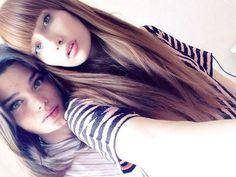 Katya and friend