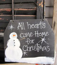 snowman signs | ... Snowman Sign, Christmas Sign, Prim Snowman, Primitive Christmas Sign