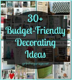 30 budget friendly decorating ideas and a 200 gift card giveaway thru - Home Decor Giveaway