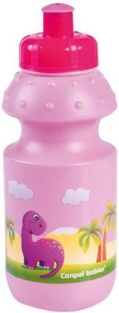 Canpol Babies спортивный 360 мл розовый  — 285р. --------------- Поильник бутылочка Canpol выполнен в спортивном стиле и имеет удобную форму. Идеально подходит для дорожного поильника.