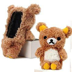 EveryOne-Buy Stylish Cute 3D Teddy Bear Doll Toy Plush Case Cover For Apple iPod Touch 4 iPod Touch 5 iPhone 5S/5/5C/4S/4 Brown (Brown for iPod touch 4) Generic http://www.amazon.com/dp/B00MQHQBXU/ref=cm_sw_r_pi_dp_Bwboub0KQ083P