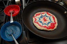 Fireworks Pancakes