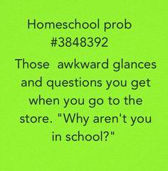 Homeschool problems! Haha