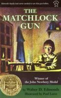 The Matchlock Gun by Walter Edmonds|1942 Newberry Winner|In 1756, New York State was still a British colony, and the French and the Indians were constant threats to Edward and his family. When his father was called away to watch for a raid from the north, only Edward was left to protect Mama and little Trudy. His father had shown him how to use the huge matchlock gun, an old Spanish gun that was twice as long as he was, but would Edward be able to handle it if trouble actually came?