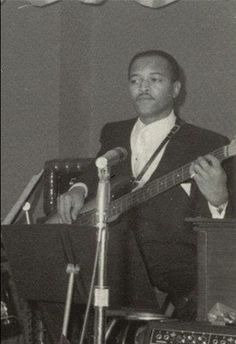 James Jamerson Bass Player From The Funk Bros. Motown Backing Band.