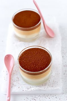 Vanilla, Salted Butter Caramel, and Chocolate Mousse
