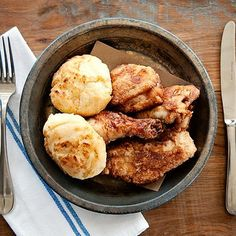 Watershed on Peachtree; Atlanta The Atlanta institution has undergone a number of changes, but new chef Joe Truex knew not to mess with Scott Peacock's legendary fried chicken. Brined in buttermilk and fried in ham hock-flavored fry fat, the crisp, golden, utterly addictive chicken is now served both at lunch and dinner on Wednesdays—and sold out usually by 7:30pm.  via @AOL_Lifestyle Read more…