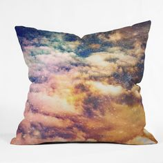 DENY Designs Shannon Clark Cosmic Throw Pillow