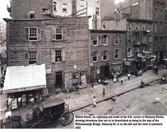 1901 . image of Delancey and Willet Streets, other details in bottom right of image. Knickerbockervillage.blogspot.com