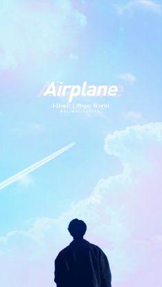 J-Hope || Wallpaper #jhope #hoseok #airplane #hopeworld #BTS