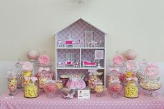 Dolls house party dessert buffet by Little Big Company