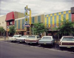 Main Street, Twin Falls, Idaho, July Photo by Stephen Shore. I remember this! Stephen Shore, William Eggleston, Walker Evans, Color Photography, Street Photography, 1970s Photography, Saul Leiter, Twin Falls, New York
