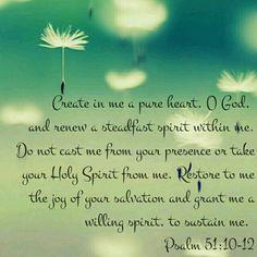 Psalm 51:10-12