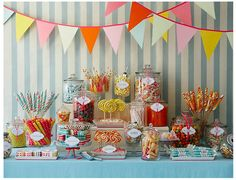 Sweet dessert table!