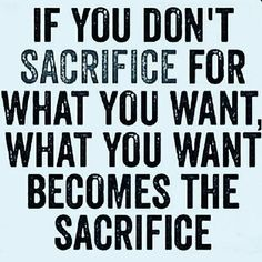 You will make the sacrifice...Which one is up to you!