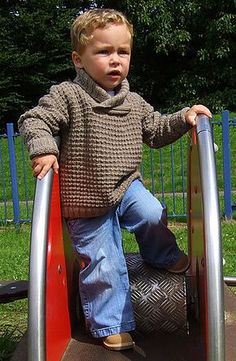 Baby Knitting Patterns Sweter Ravelry: Design F – Wrap-Collar Sweater, Hat, and Blanket pattern by Sirdar Spin… Baby Knitting Patterns, Jumper Knitting Pattern, Baby Boy Knitting, Knitting For Kids, Baby Patterns, Hoodie Pattern, Knitting Ideas, Crochet For Boys, Crochet Baby