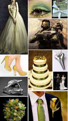 Halo Wedding Inspiration