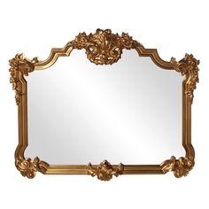 Elizabeth Austin Avondale Gold Ornate Mirror - 48W x 39H in. - 56006