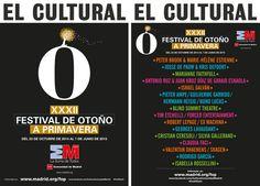 XXXII FESTIVAL DE OTOÑO A PRIMAVERA