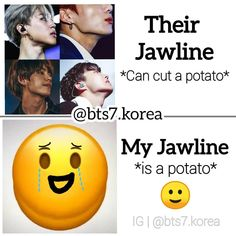 Bts Memes Hilarious, Crazy Funny Memes, Wtf Funny, Fun Quotes, Best Quotes, Bts Book, Jawline, Smile, Books