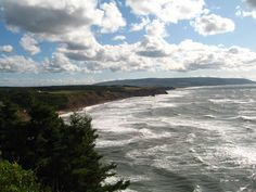 Rough Seas - Cape Breton Island (Inverness County) Nova Scotia, Canada.