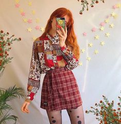 ♡ @honey_bby ♡ Retro Outfits, Cool Outfits, Vintage Outfits, Vintage Fashion, Moda Converse, 90s Fashion, Fashion Outfits, Moda Vintage, Looks Vintage