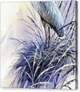 Herons Grace Canvas Print Driftwood Shores, Flying Bird Silhouette, Herons, Fine Art Prints, Canvas Prints, Bird Drawings, Blue Heron, Fine Art America, Watercolor Paintings