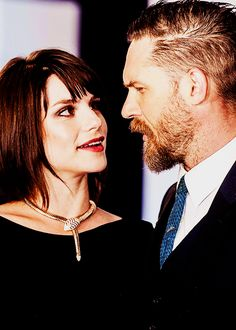 Tom Hardy and Charlotte Riley at the Legend World Premiere at Odeon Leicester Square, London, 03/09/15.