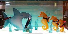 Fairytale - Hermès Window Display by Kliment v Klimentov, via Behance
