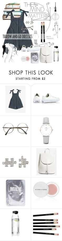 """THE MIND MATTERS"" by amore520 ❤ liked on Polyvore featuring Børn, Converse, CLUSE, Akillis, Everlane, Lapcos, Herbivore, Menu, GE and Frontgate"
