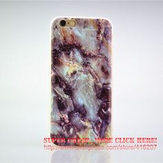 For iPhone 4 4s/5C/5 5s/SE/6 6s/7 7Plus For Samsung Case Marble Pattern Soft Flexible TPU Slim Case Cover Cell Phone Cases