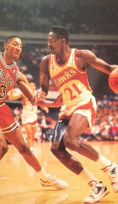 Dominique Wilkins #Hawks #Basketball #NBA