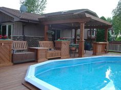 Above Ground Pool Design, Pictures, Remodel, Decor and Ideas - page 2