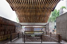 In traditional Chinese architecture they use wood and not very good wood ... maybe the building will just stay up for 50 years. Wang Shu, architect