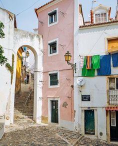 Lisboa, Portugal Alfama, Calçadinha de São Miguel