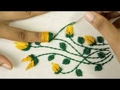 Embroidery Stitches Tutorial Amazing Hand Embroidery: Learn Flower Ideas with Tricks - Hand Embroidery Projects, Hand Embroidery Videos, Embroidery Stitches Tutorial, Hand Embroidery Flowers, Flower Embroidery Designs, Learn Embroidery, Silk Ribbon Embroidery, Crewel Embroidery, Embroidery Techniques